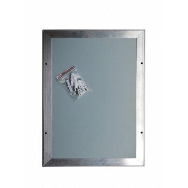 A0 rėmelis su 25mm profiliu pilkas 6