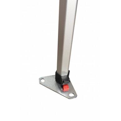 Aliuminė palapinė 3x2 PREMIUM 40 Balta 6