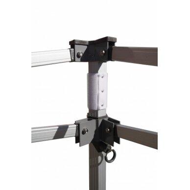 Aliuminė palapinė 3x3 LUX50 Balta 7