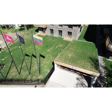 Baneriniai vėliavų stiebai 2