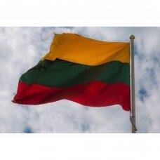 Bet kokio dydžio Lietuvos valstybinė vėliava