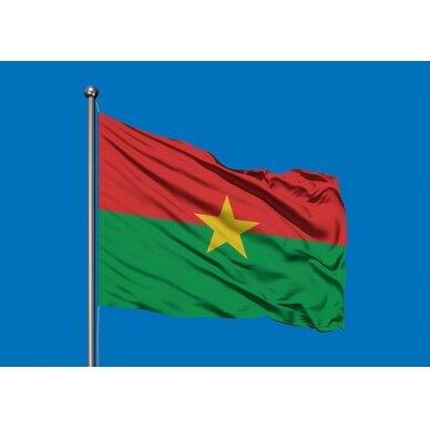 Burkina Faso vėliava 2