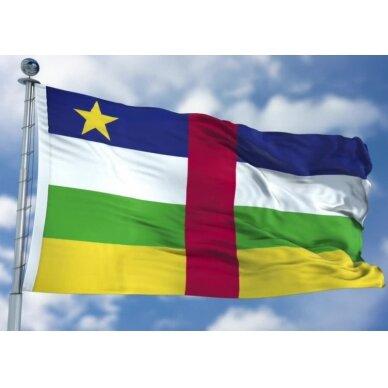Centrinės Afrikos Respublikos vėliava 2