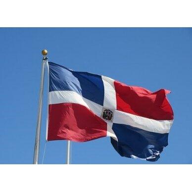 Dominikos Respublikos vėliava 2