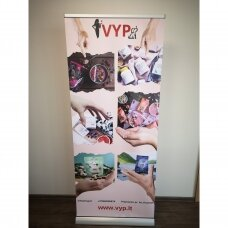DVIPUSIS reklaminis stendas ROLL UP 85x200 cm