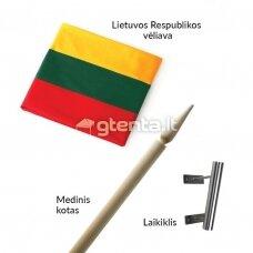 """ELITE vėliavos komplektas """"Trispalvė"""""""