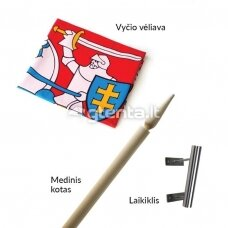 "ELITE vėliavos komplektas ""Vytis"""