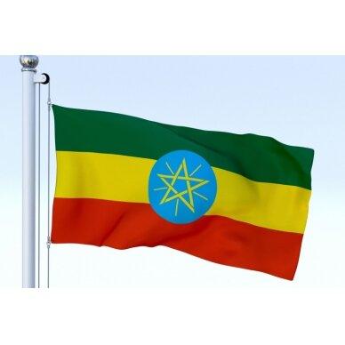 Etiopijos vėliava 2
