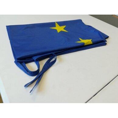 Europos Sąjungos vėliava 100 x 170 cm maunama ant koto 4