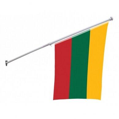 Fasadinis vėliavos stiebas SMART 2m