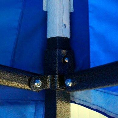 Greito surinkimo palapinė 2x2 Mėlyna Steel 30 2