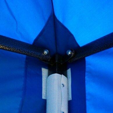 Greito surinkimo palapinė 2x2 Mėlyna Steel 30 3