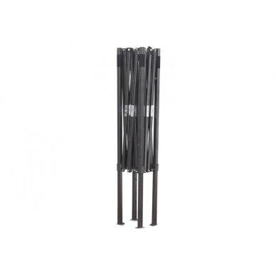 Greito surinkimo palapinė 3x4,5 Juoda Steel 30 3