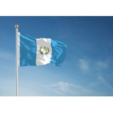 Gvatemalos vėliava 2