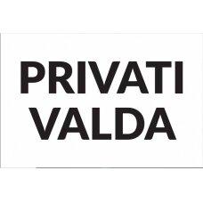 Informacinė lentelė Privati Valda I