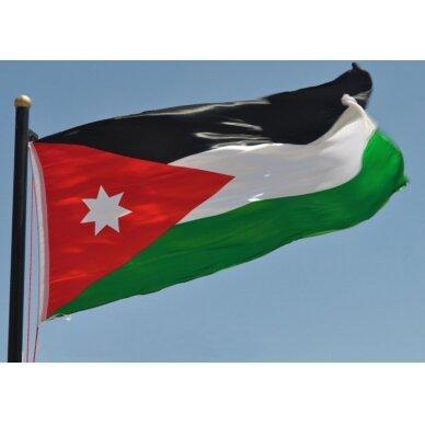 Jordanijos vėliava 2