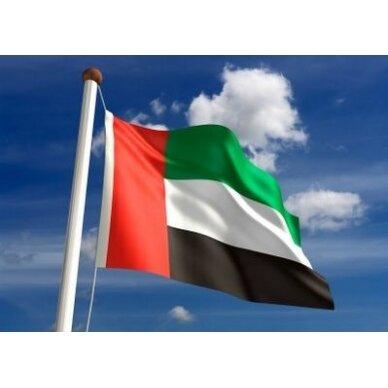 Jungtinių Arabų Emyratų vėliava 2