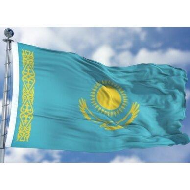 Kazachstano vėliava 2
