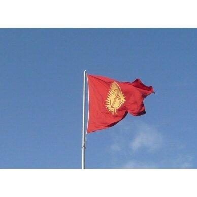 Kirgizijos vėliava 2