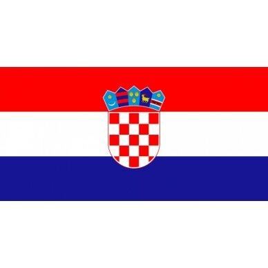 Kroatijos vėliava 2