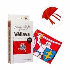 Lietuvos istorinė vėliava 100 x 170 cm maunama ant koto (aukštos kokybės)
