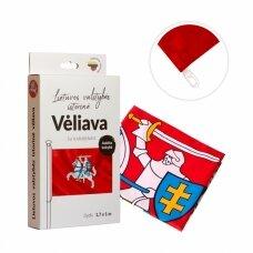 Lietuvos istorinė vėliava 100 x 170 cm rišama prie stiebo (aukštos kokybės)