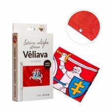 Lietuvos istorinė vėliava 100 x 170 cm su žiedais (aukštos kokybės)