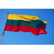 Lietuvos Respublikos vėliava 150 x 250 cm rišama prie stiebo