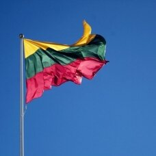 Lietuvos Respublikos vėliava 200x300cm rišama prie stiebo