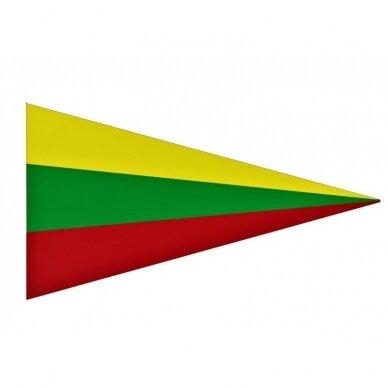 Lietuvos Respublikos trikampė vėliava 35x300cm