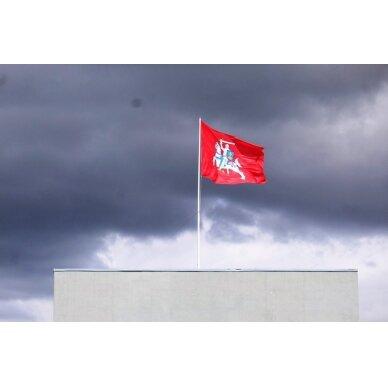 Lietuvos istorinė vėliava 150 x 250 cm rišama prie stiebo 3
