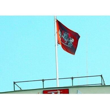Lietuvos Respublikos Prezidento vėliava 100 x 170 cm rišama prie stiebo 2