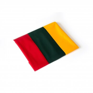 Lietuvos vėliava trispalvė 100 x 60 cm su raišteliais