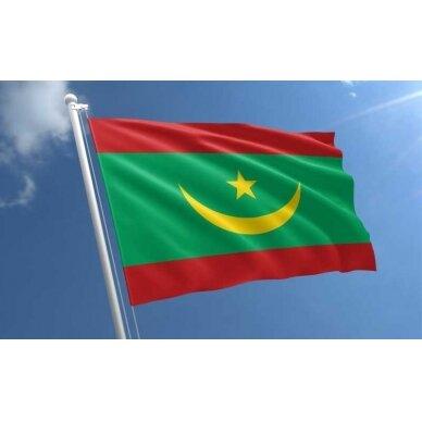 Mauritanijos vėliava 2