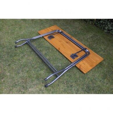 Medinis baro stalas 160x60 3