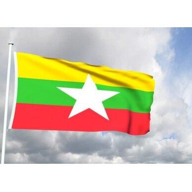 Mianmaro vėliava 2
