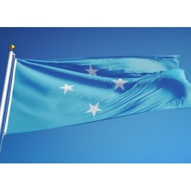 Mikronezijos vėliava 2