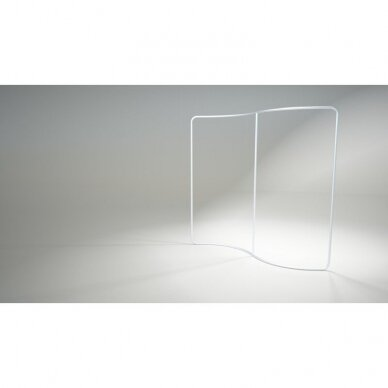 Mobili parodų sienelė TUBE S formos 2,5m 2