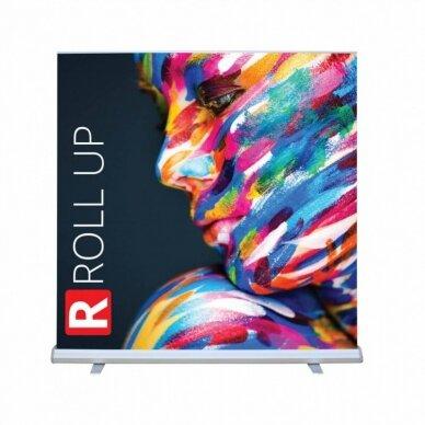 Mobilus reklaminis stendas ROLL UP LUX 200x200 cm