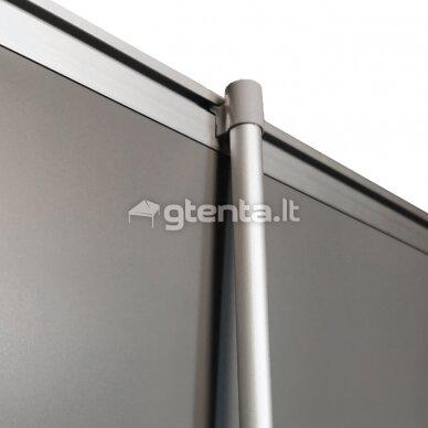 Mobilus reklaminis stendas ROLL UP STANDARD 120X200 cm 6