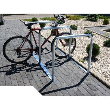 Modulinis dviračių stovas U-15