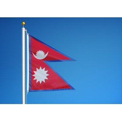 Nepalo vėliava 2