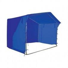 Prekybinė palapinė 2×2 Mėlyna
