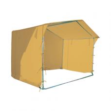 Prekybinė palapinė 2×2 Smėlio spalvos