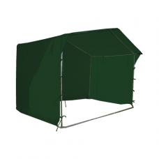 Prekybinė palapinė 2×2 Tamsiai Žalia