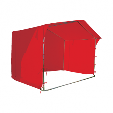 Prekybinė palapinė 2×2 Raudona