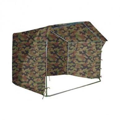 Prekybinė palapinė 3×2 Chaki