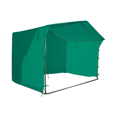 Prekybinė palapinė 3×3 Žalia