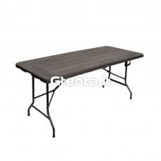 Sulankstomas stalas 180 cm Pilkas