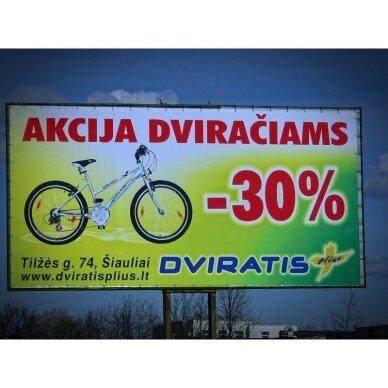 Reklaminis tentas PVC horizontalus 5